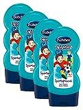 Bübchen Kids Shampoo und Duschgel Sportsfreund, Kinder-Shampoo und -duschgel, pH-hautneutrale Pflege für Kinderhaut, mit frischem Duft, Menge: 4 x 230 ml