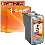 Gorilla-Ink 1x Druckerpatrone XXL remanufactured für Canon CL-41 XL Color Pixma IP 1300 1600 1700 1800 1900 2200 2500 2600