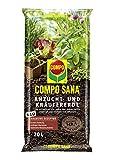 COMPO SANA Anzucht- und Kräutererde mit 6 Wochen Dünger für alle Jung- und Kräuterpflanzen, Kultursubstrat, 20 Liter, Braun