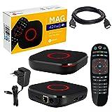 MAG 424w3 mit 2Gb RAM Original Infomir & HB-DIGITAL 4K IPTV Set TOP Box Multimedia Player Internet...