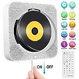 Tragbarer DVD-/ CD-Player, an der Wand montierbarer Bluetooth-CD-DVD-Player, integrierter...