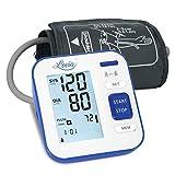 Digitales Automatisches Blutdruckmessgerät für Oberarm - Blutdruck messgeräte für Blutdruck und Herzfrequenz, Hintergrundbeleuchtung Großes LCD-Display, 2x120 Speicherkapazität