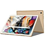 Tablet 10 Zoll 4G LTE Android 9 Tablet PC 4GB RAM 64GB ROM / 256 GB Erweiterbar, GMS-Zertifizierung,...