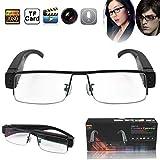 Flylinktech 2015 Fashion Brille Neueste Zwei-Tasten HD 1920  1080 Spion Kamera Glasses 1080P DV DVR versteckte Kamera Eyewear DVR Video Recorder Camcorder Sport DVR