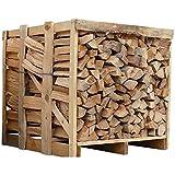 Buche 33cm RM Box Brennholz trocken Kaminholz ofenfertig Holz Feuerholz Scheitholz Kaminfeuer Lagerfeuer Pizzaofen | Boxenmaß ca.104x100x100cm | 1 Box =ca.400kg | Energie Kienbacher