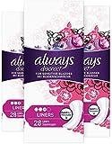 Always Discreet Inkontinenz Slipeinlagen bei Blasenschwäche, 3er Pack (3 x 28 Stück)