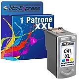 Tito-Express PlatinumSerie 1 Patrone für Canon CLI-41XL Color Pixma IP1600 MP210 MP220 MP450 MP460 MX300 MX310