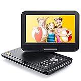 APEMAN Tragbarer DVD Player Auto 10,5'' mit Drehbarer Display Portable CD Player 5 Stunden Akku...