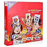 was Bin Ich - HedBanz Kinderspiel Kartenspiele Brettspiel für Kinder, Freunde und Familien- (2....