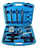 FreeTec 10T Hydraulischer Abzieher Radlager Radlagerabzieher 2/3-Arm Werkzeug