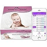 Easy@Home 50 Ovulationstest + 20 Schwangerschaftstest frühtest - Empfidlich Kinderwunsch Fruchtbarkeitstests für Eisprung 25 mIU/ml und Schwangerschaftstests 10 mIU/ml mit optimaler Sensitivität