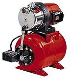 Einhell Hauswasserwerk GC-WW 1046 N (1050 W, 4600 L/h Max. Fördermenge, Max. Förderdruck 4,8 bar, Druckschalter, Manometer, 20 L Behälter)