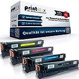 4x Kompatible Tonerkartuschen für Canon I-Sensys MF734Cdw I-Sensys MF735Cdw I-Sensys MF735Cdwt I-Sensys MF735Cx 046 H 046H Schwarz Blau Rot Gelb - Office Light Serie
