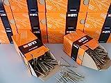 Spanplattenschrauben gelb verzinkt, Senkkopf, Holzschrauben, Torx, Teilgewinde BTI (4,5 x 50 mm 400 St.)