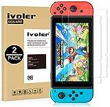ivoler [2 Stücke] Panzerglas Schutzfolie für Nintendo Switch, [9H Härte] [Anti- Kratzer]...