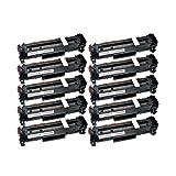 10 Toner kompatibel für Canon Cartridge 718 I-Sensys LBP-7200 7210 7600 7660 7680 C CDN CN CX MF-8300 8330 8340 8350 8360 CDN CDW CD - 2659B002-2662B002 - Schwarz je 3500 Seiten, Color je 2900 Seiten