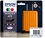 Epson Orginal 405 Tinte Koffer, WF-3820DWF WF-3825DWF WF-4820DWF WF-4825DWF WF-4830DTWF WF-7830DTWF WF-7835DTWF WF-7840DTWF, Multipack 4-farbig