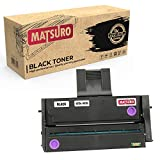 Matsuro Original | Kompatibel Tonerkartusche Ersatz für RICOH 407254 407255 (1 SCHWARZ)