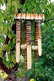 aw Windspiel, aus Bambusholz, 6 Röhren, Fair Trade