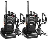 Nestling Funkgeräte Set,Walkie Talkie 16 Kanäle in beiden Richtungen,Handfunkgerät Eingebauter...