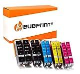 10 Bubprint Druckerpatronen kompatibel für Canon PGI-550 CLI-551 XL für Pixma IP7200 IP7250 IX6850 IP8750 MG5450 MG5550 MG5650 MG6350 MG6450 MG6650 MG7150 MG7550 MX725 MX920 MX925 Multipack
