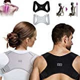 Back Bodyguard Haltungskorrektur - Innovativer Rücken Geradehalter für eine aufrechte Körperhaltung - Rückenstütze - Rückenstabilisator ,Grau,M