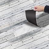 Kuke Bodenaufkleber Selbstklebend 20x300 cm, Muster Stil Bodenfliesen Fliesenaufkleber Wasserdichte Anti-Rutsch Fliesensticker für Küchenboden Bad Wohnzimmer Balkon (NO1)