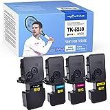 MyCartridge 4 Kompatibel Kyocera TK-5230 Toner für Kyocera Ecosys M5521CDN M5521CDW P5021CDN P5021CDW (Schwarz/Cyan/Magenta/Gelb)