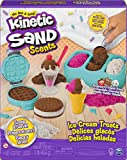 Kinetic Sand Eiscreme Set mit Duftsand, 510 g für kreatives Indoor-Rollenspiel