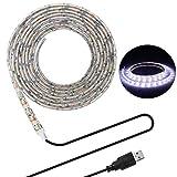 LED Beleuchtungsstreifen,USB TV Hintergrundbeleuchtung 16.4Ft/5m LED Band Licht für 40-90 Zoll HD...
