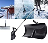 Schneeschaufel, Schneeroller und Eispickel in einem! ROOF MASTER - 3 in 1 - mit Teleskopstange erweiterbar bis 3,32 m. So befreien Sie auch Dächer im Handumdrehen von Schnee! TOPP Neuheit!