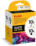 Kodak Tintenpatronen Combo Pack, 10B und 10C, schwarz