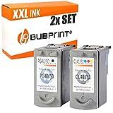 2 Bubprint Druckerpatronen kompatibel für Canon PG-40 CL-41 für Pixma IP1600 IP1700 IP1900 IP2200 IP2500 IP2600 MP140 MP150 MP160 MP170 MP180 MP190 MP210 MP220 MP450 MP450X MP460 MX300