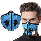 Jiaxingo Atemmaske Staubschutzmaske Schutz Maske Anti Verschmutzung Maske Staub Maske mit Aktivkohle Filter Mehrweg Mundschutz für Radsport Training
