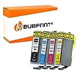 Bubprint 4 Druckerpatronen kompatibel für HP 364XL 364 XL für DeskJet 3070A 3522 OfficeJet 4620 PhotoSmart 5525 6510 6525 7520 e-All-in-One Plus B209A