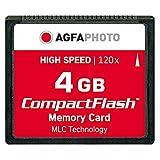 AgfaPhoto 120x High Speed MLC Compact Flash (CF) 4 GB Speicherkarte