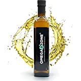 Premium Omega-3 Fischöl flüssig & hochdosiert von Omega 3 Zone - bei erhöhtem Bedarf (z.B. Stress & Sport) - [4755 mg pro Portion] - 500 ml mit Zitronen Geschmack - Hergestellt in Deutschland