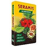 Seramis Torffreie Blumenerde, 40 l – lockere Erde mit Pflanz-Granulat zur Wasser- und Nährstoffspeicherung, für Grün- und Blühpflanzen