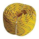 Kunststoffseil PP Polypropylen Polyseil gelb 20mx4mm