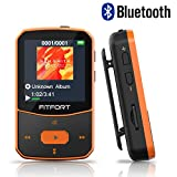 MP3 Player Bluetooth 4.1 Sport - Verlustfreier Sound FM Radio,Sprachaufzeichnung,E-Book und andere...