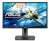 ASUS MG248QR 61,0 cm (24 Zoll) Gaming Monitor (Full HD, 3D-Fähig, HDMI, DisplayPort, FreeSync 144...