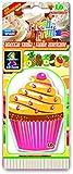 LD Fresh Fruit Papier Lufterfrischer Autoduft America Vanilla (Muffin)