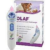 OLAF der elefantastische Nasensauger, elektrischer Babynasensauger, Kleinkind Sekretsauger, Nasenschleimentferner, Nasensauger Baby elektrisch, Medizinprodukt