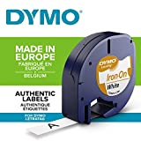 Dymo 18768 LT-Etiketten (Rolle mit den Maßen 12 mm, 2-Meter-Rolle, aufbügelbar für...