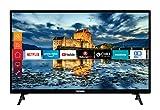 Telefunken XF32J511 32 Zoll Fernseher (Smart TV inkl. Prime Video / Netflix / YouTube, Full HD,...