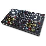 Numark Party Mix - 2 Kanal Plug und Play DJ Controller für Serato DJ Lite mit eingebautem Audio...