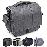 Bodyguard Mali DSLR-Kameratasche für Nikon, Canon Foto-Tasche mit Schnellzugriff, grau