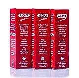 3x Ajona Medizinisches Zahncreme-Konzentrat für Zähne,Zahnfleisch und Zunge 25ml