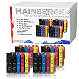 20x Hainberger XXL Patronen kompatibel zu Canon PGI-525 XL + CLI-526 für Pixma IP-4850 IP-4950 IX-6550 MG-5150 MG-5250 MG-5340 MG-5350 MG-6150 MG-6250 MG-8150 MG-8240 MG-8250 MX-715 MX-885 MX-895