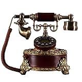 MHTCJ Schnurgebundenes Telefon mit Freisprecheinrichtung/Vintage-Deko-Telefon...